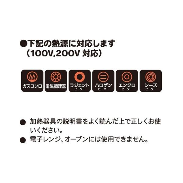 ナチュラ IHマーブル フライパン キッチン 20cm/エッグパン13×18cm ニッセン nissenzai 04