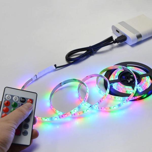 LED テープライト USB対応 2m SMD3528 5V  LEDテープ RGB 間接照明 棚下照明 テレビの背景照明用LED nissin-lux 03