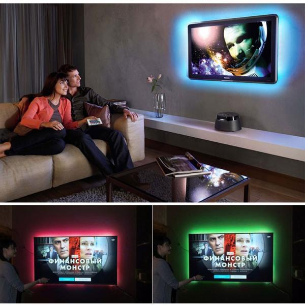 LED テープライト USB対応 2m SMD3528 5V  LEDテープ RGB 間接照明 棚下照明 テレビの背景照明用LED nissin-lux 04
