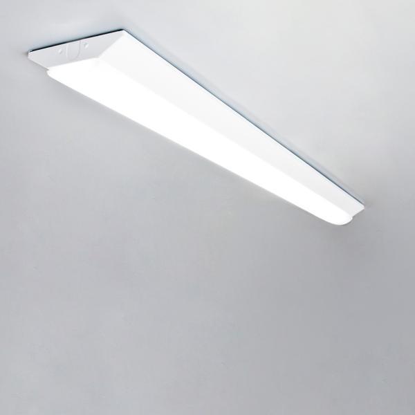 LED蛍光灯器具一体型逆富士形 ledベースライト 40w 2灯 逆富士形 天井直付け led蛍光灯40W 2灯相当 125cm 5200LM nissin-lux 05