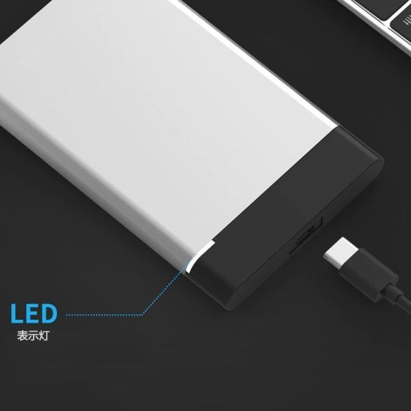 外付けHDD 1TB  ポータブル型 4k対応テレビ録画 PC パソコン mac対応 USB3.1/USB3.0用 HDD 2.5インチ 持ち運び 簡単接続 ハードディスク 最安値に挑戦|nissin-shop|06