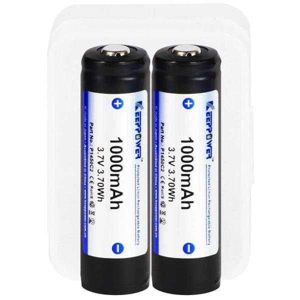 KP 14500 保護回路付きリチウムイオン電池 1000mAh 4本|nissindigital