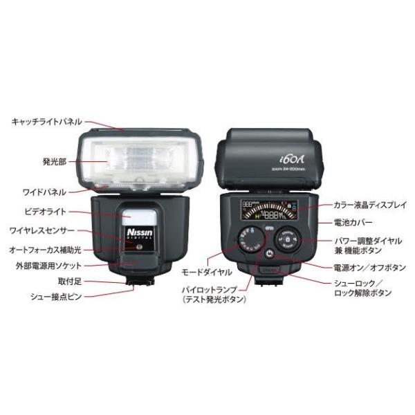 ニッシンデジタル i60A キヤノン用 【正規品】 Nissin i60A for Canon (※Air10sキヤノン用対応済み)|nissindigital|03