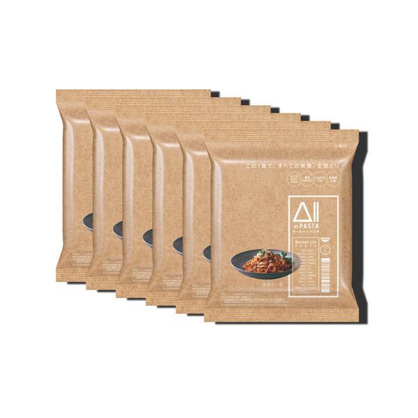 日清食品 All-in PASTA (オールインパスタ) 1セット(6食入) / 完全栄養食 低糖質 高たんぱく