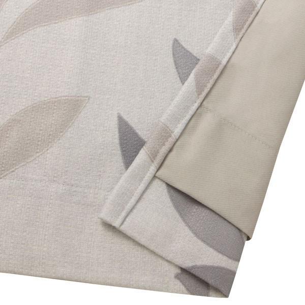 (1枚入り)裏地付き遮熱カーテン(コリヌ グレー 100X140X1) ニトリ 『玄関先迄納品』|nitori-net|06