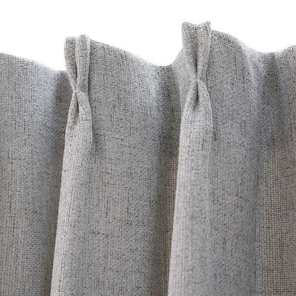 (1枚入り)裏地付き遮熱カーテン(リフレ グレー 100X210X1) ニトリ 『玄関先迄納品』|nitori-net|05