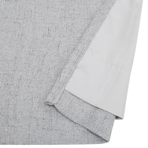 (1枚入り)裏地付き遮熱カーテン(リフレ グレー 100X210X1) ニトリ 『玄関先迄納品』|nitori-net|06