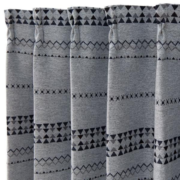 遮光1級・遮熱カーテン(パラス グレー 100X110X2) ニトリ 『玄関先迄納品』 『1年保証』|nitori-net|04