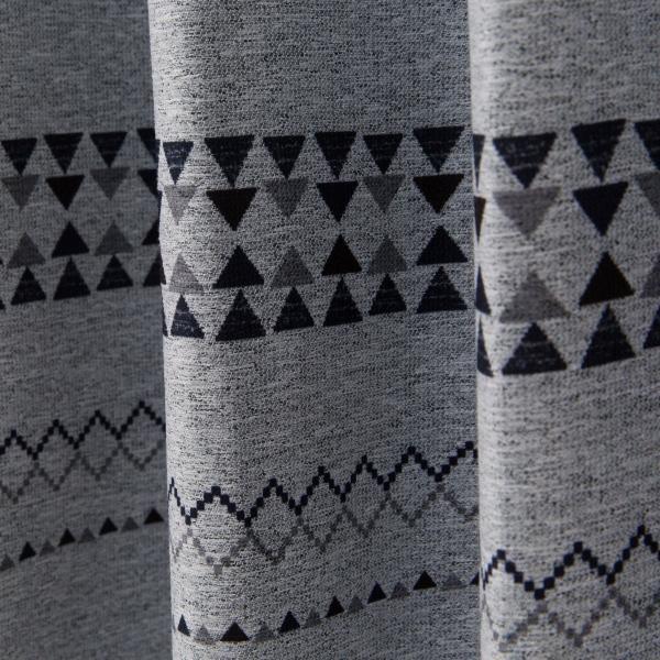 遮光1級・遮熱カーテン(パラス グレー 100X110X2) ニトリ 『玄関先迄納品』 『1年保証』|nitori-net|08