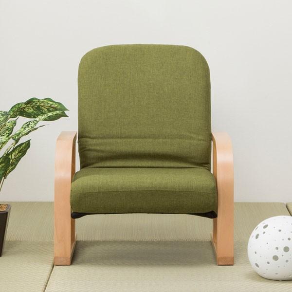 高座椅子 立ち座りラクラク (ハープ2YGR) ニトリ 『玄関先迄納品』|nitori-net|02