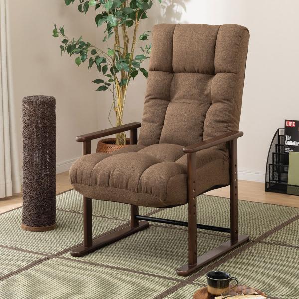 高座椅子ハイタイプ(Hオルガン3BRXBR)ニトリ『玄関先迄納品』『1年保証』
