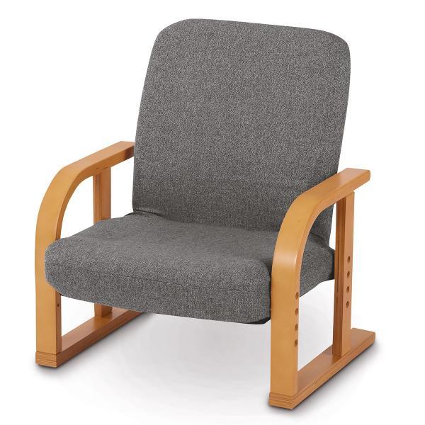 高座椅子ロータイプ(Lハープ3GYXNA)ニトリ『玄関先迄納品』『1年保証』