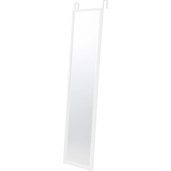 ドア掛けミラー高さ120cm(ホワイト)ニトリ『玄関先迄納品』『1年保証』