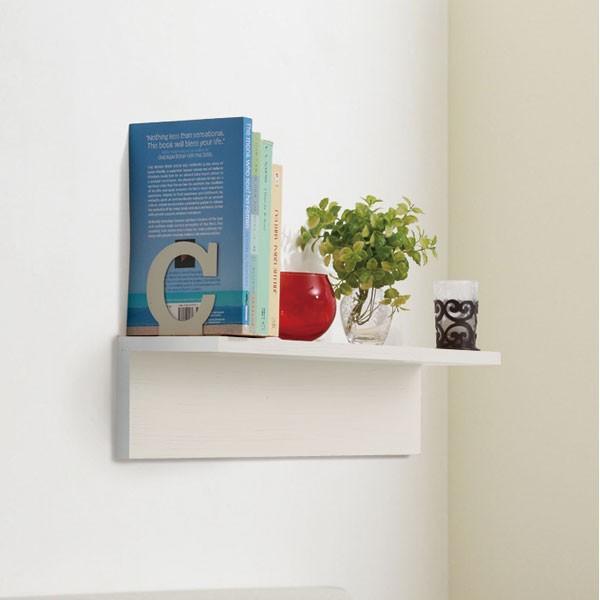 RoomClip商品情報 - L型ウォールシェルフ アルブル 幅60cm(ホワイトウォッシュ) 4個セット ニトリ 『送料無料・玄関先迄納品』