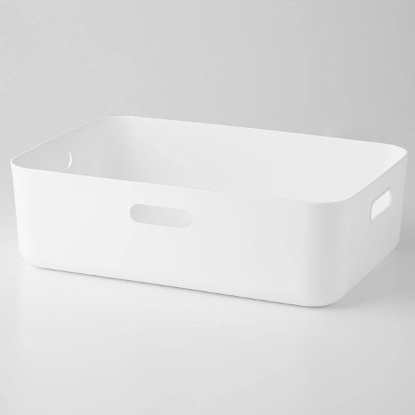 ソフトNインボックスよこ型ハーフ(ホワイト)ニトリ『玄関先迄納品』『1年保証』