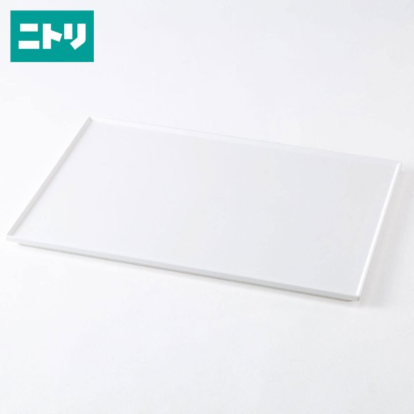 収納ケースNインボックス(W)フタレギュラー用(ホワイト)ニトリ『玄関先迄納品』『1年保証』