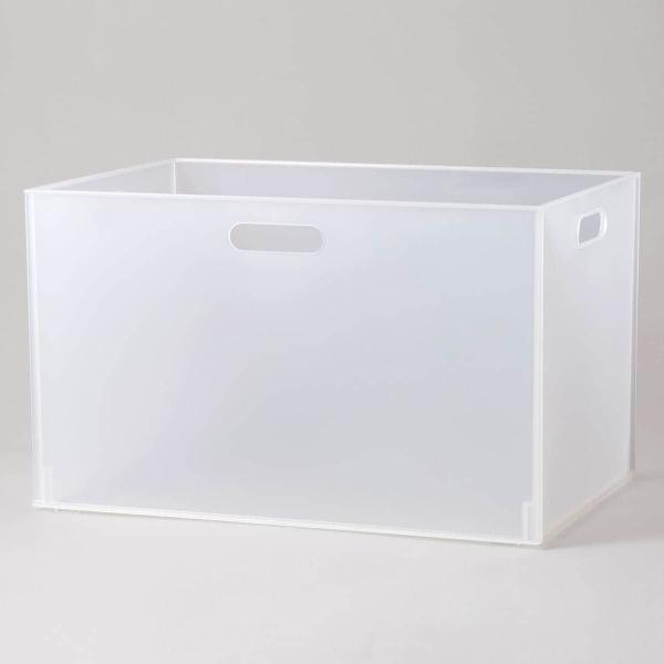 収納ケースNインボックス(W)レギュラー(クリア)ニトリ『玄関先迄納品』『1年保証』