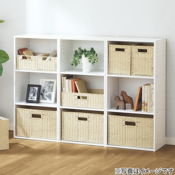 カラーボックス 3段 収納 ホワイト ニトリ 玄関先迄納品 1年保証 nitori-net 11