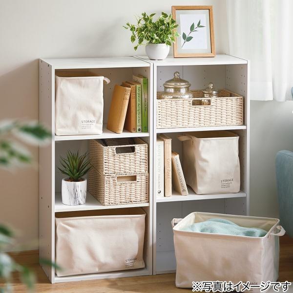 カラーボックス 3段 収納 ホワイト ニトリ 玄関先迄納品 1年保証 nitori-net 12