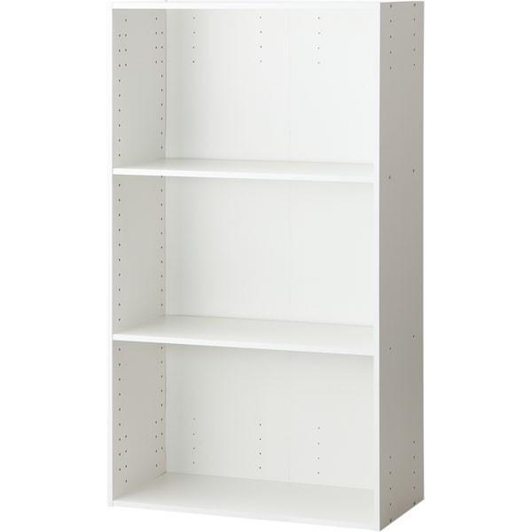 カラーボックス 3段 ワイド 収納 カラボ A4-3段 (WH) ニトリ 『玄関先迄納品』 『1年保証』
