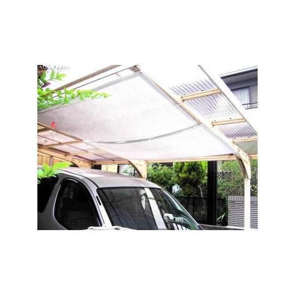 ハトメ加工の日よけクールブラインドアクティブ185×190 超軽量 送料無料 遮熱 紫外線95%日射熱81%カット オーニング nitteki 02