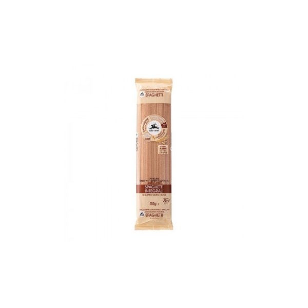 アルチェネロ 有機ファイバー&プロテインスパゲッティ (全粒粉とヒヨコ豆) 250g 20個セット C6-45