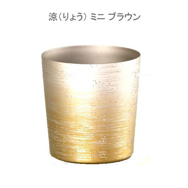 お歳暮 内祝い お返し 涼 りょう ミニ チタン タンブラー 保温 保冷 おしゃれ 二重 カップ コーヒー 米寿 プレゼント 金婚式 ビアカップ ビールグラス|niwa-company|02
