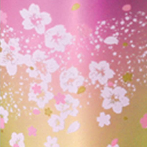 敬老の日 華チタン サクラサク ピンク チタン タンブラー 保温 保冷 おしゃれ 二重 カップ コーヒー 米寿 プレゼント 金婚式 ビアカップ ビールグラス|niwa-company|02