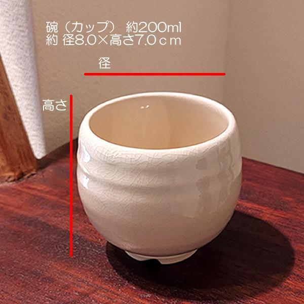 お歳暮 内祝い お返し 伝統工芸 萩焼  姫土 茶の間セット(茶こし付)(化粧箱) niwa-company 02