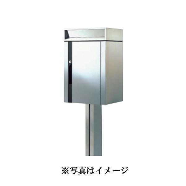 郵便受箱・ポスト 杉田エース 244-335 MX-101B 【前入後出・ポール付】
