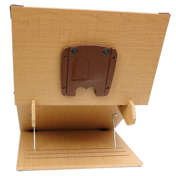 木製 卓上 2段ブックスタンド 40cm幅 多用途 読書台 組立て・分離式  3段階角度調節 S402(メーカー直輸入品)|niyantarose|06