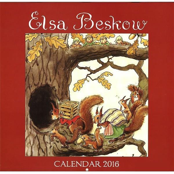 (セール/過去カレンダー)2016 エルサ・ベスコフカレンダー (輸入品:英語版)