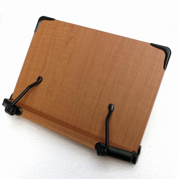2017新モデル 見やすい角度に14段階調節 木製ブックスタンド コンパクトサイズ(30×21cm)S301 折りたたみ式 多用途 書見台 読書台 筆記台 (メーカー直輸入)|niyantarose