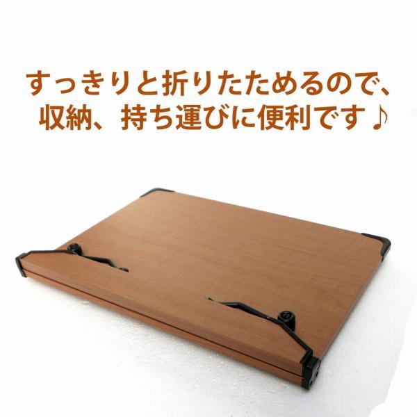 2017新モデル 見やすい角度に14段階調節 木製ブックスタンド コンパクトサイズ(30×21cm)S301 折りたたみ式 多用途 書見台 読書台 筆記台 (メーカー直輸入)|niyantarose|06