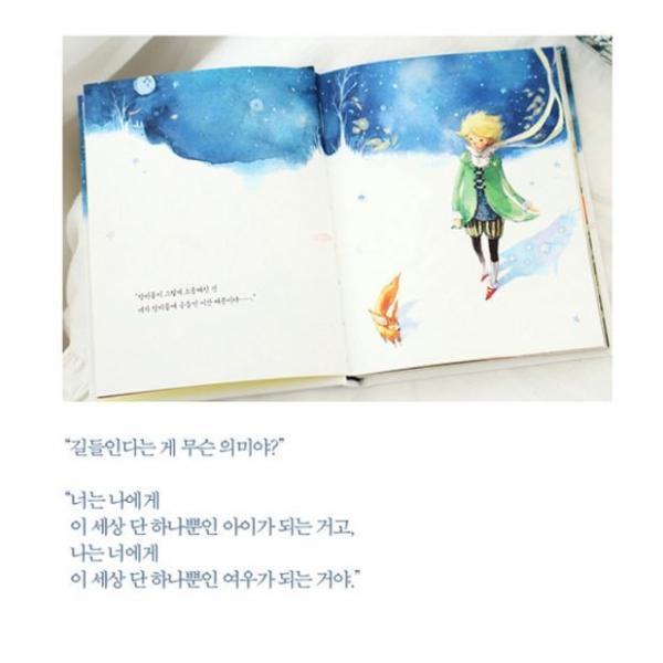 韓国語の童話/ハングルの童話 星の王子さま〜美しい古典シリーズ1 (オールカラー)完訳/改定版|niyantarose|04
