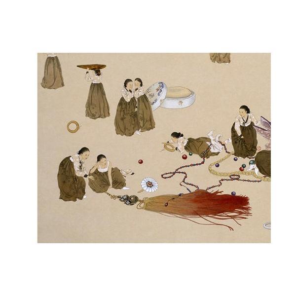 韓国語 画集 『シン・ソンミの韓服遊戯 - 韓英併記画集』 著:シン・ソンミ|niyantarose|11