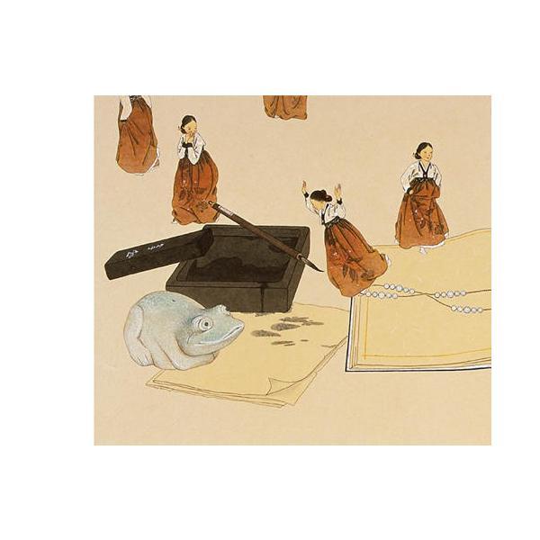 韓国語 画集 『シン・ソンミの韓服遊戯 - 韓英併記画集』 著:シン・ソンミ|niyantarose|16