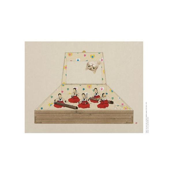 韓国語 画集 『シン・ソンミの韓服遊戯 - 韓英併記画集』 著:シン・ソンミ|niyantarose|18