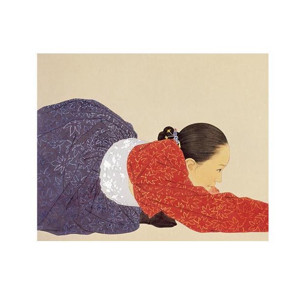 韓国語 画集 『シン・ソンミの韓服遊戯 - 韓英併記画集』 著:シン・ソンミ|niyantarose|09
