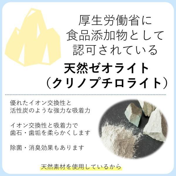 マジックゼオ プロ 40cc ペット用 犬 歯の黄ばみ 歯石 除去 歯磨き粉 オリジナル 歯 ブラシ カップ スケール 4点セッ ト|niziiro-store|10