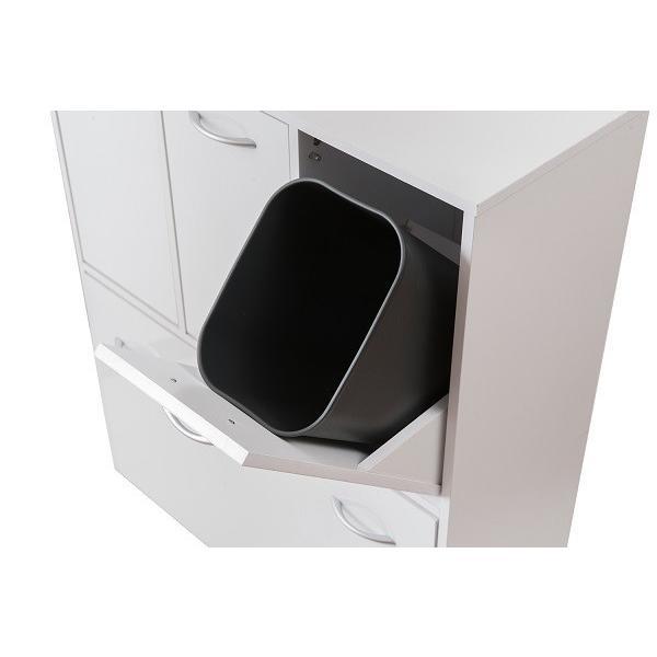 ダストボックス 5分別 ホワイト色 キッチンシリーズface ゴミ箱 fy-0029|nkagu-store|04