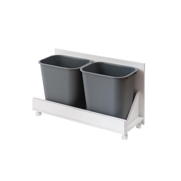 ダストボックス 5分別 ホワイト色 キッチンシリーズface ゴミ箱 fy-0029|nkagu-store|05