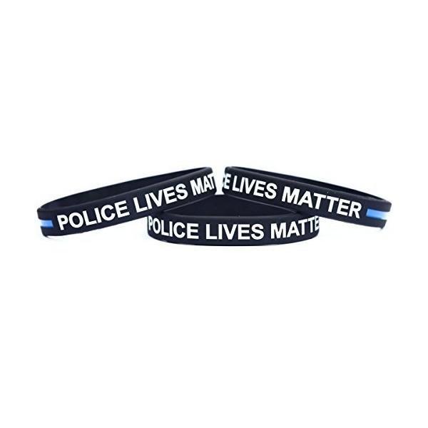 10 Black Lives Matter Wristbands Silicone Awareness Wrist Band Bracelets