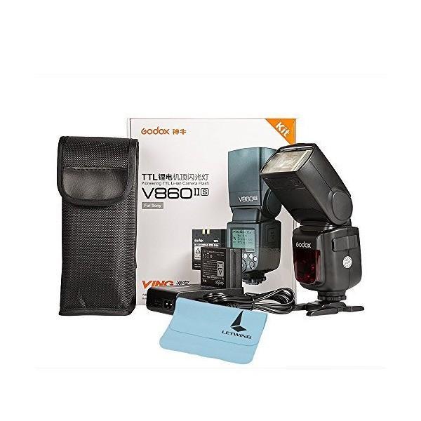 Godox Ving V860II-S 2.4G TTL Li-on Battery Camera Flash Speedlite for Sony