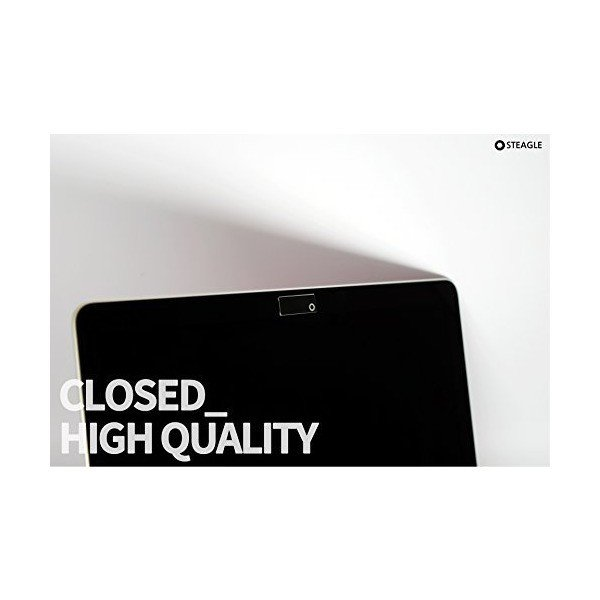 STEAGLE ORIGINAL (Black) Laptop Webcam Cover for your privacy  Macbook|nky|04
