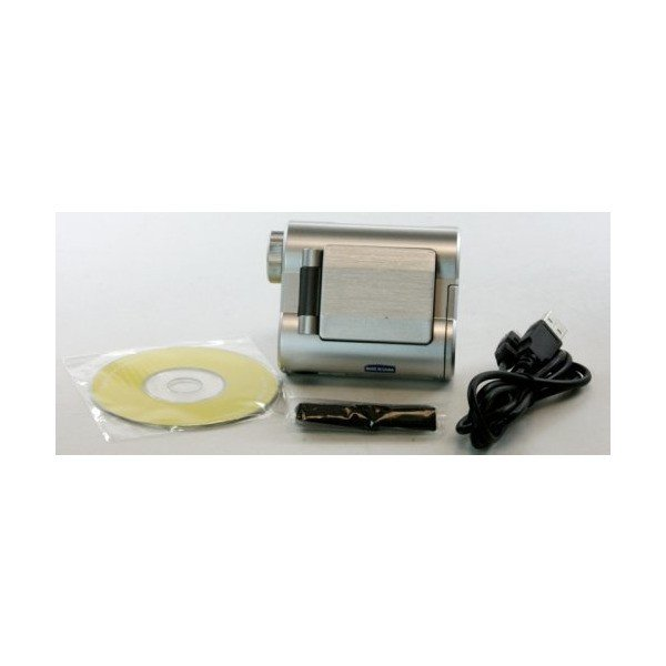 Silver Childrens Camcorder 0.3 MegaPixel CMOS