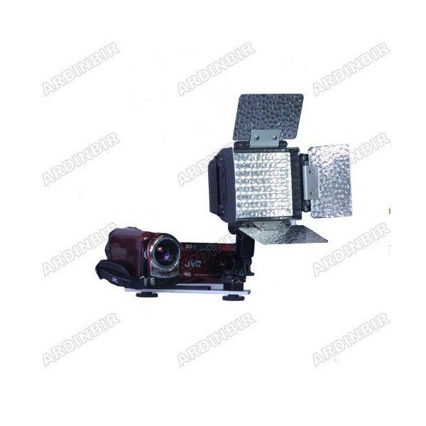 LED Video Light Lite for Canon VIXIA HF R100, R10, R11, S10, S20, S21, S11