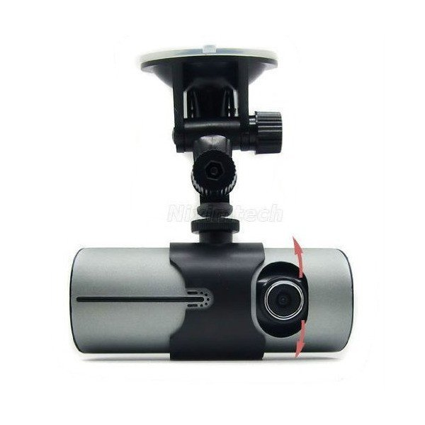 NEW Car Driving Camera Vehicle Dual Cam lens G-Sensor GPS Logger BlackBox