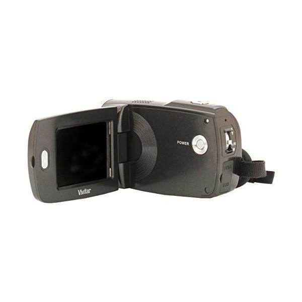 Vivitar DVR949-BLACK 12.1MP Full HD Digital Camcorder Video Camera with 2.