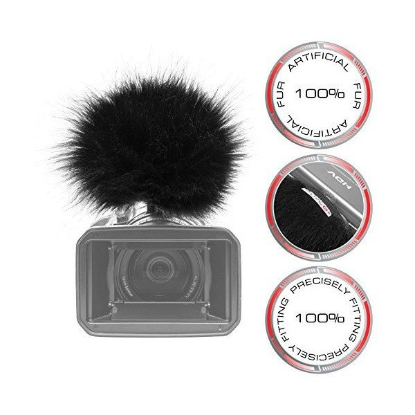 Gutmann Fur Microphone Windshield Windscreen for Canon XHA1